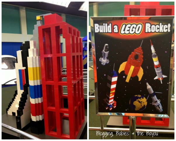 Build A Lego Space Rocket