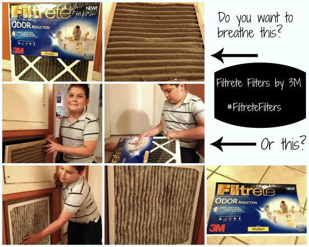 Filtrete Filters by 3M Blog Collage