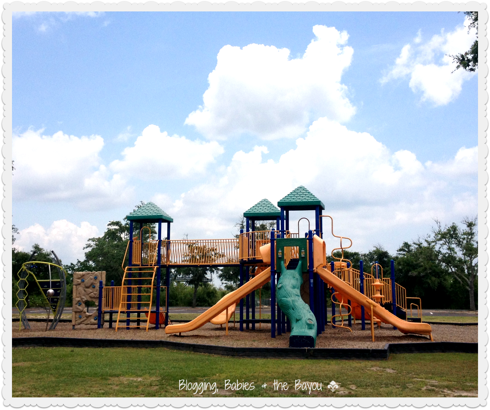 Free Places to Explore with Children- Buccaneer State Park Mississippi