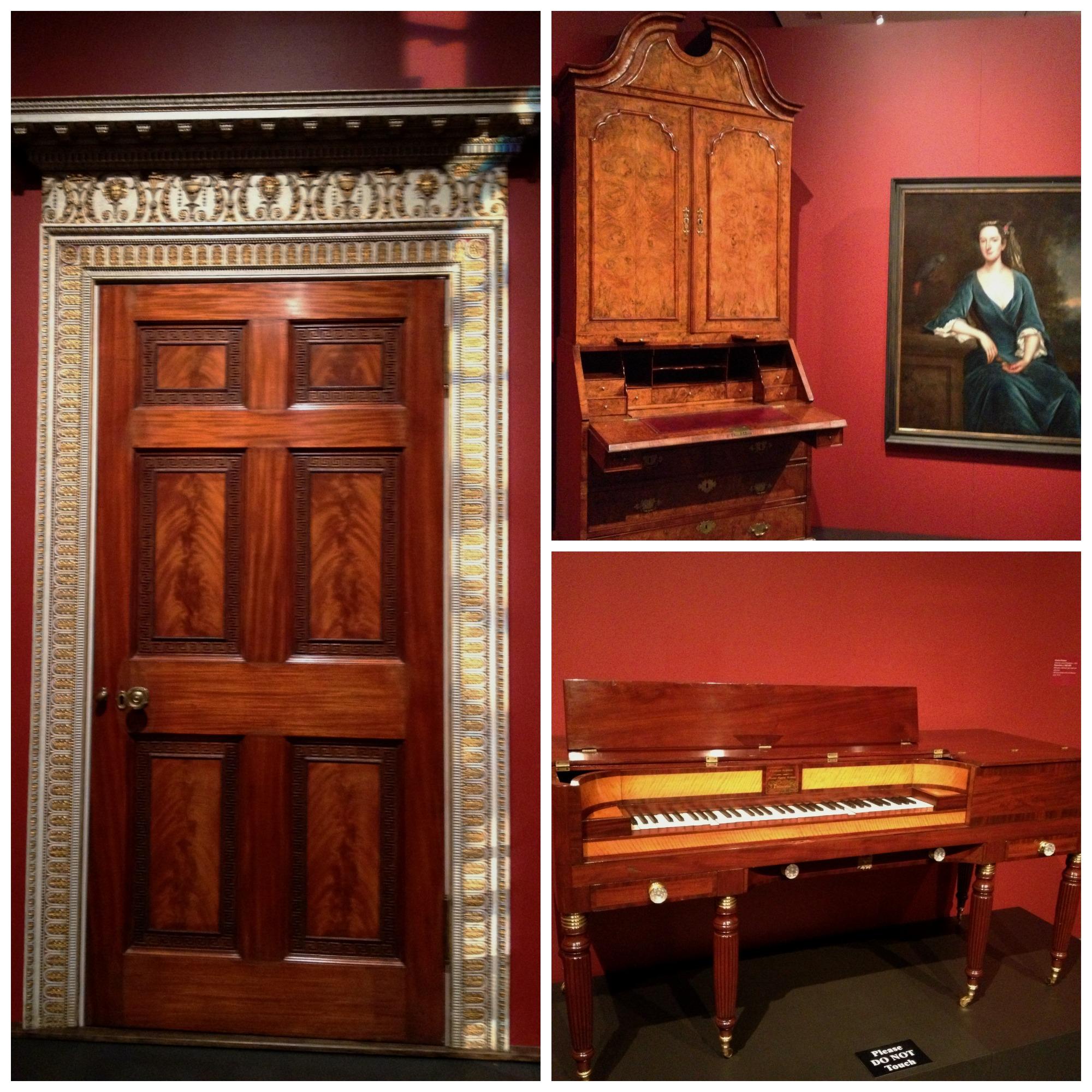 Furniture at LSU Museum of Art