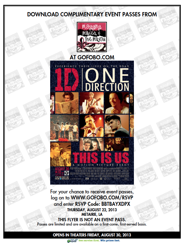 One direction This is Us 3D Movie