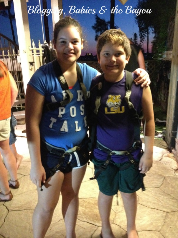 Adventure Zone- Ziplining in Destin