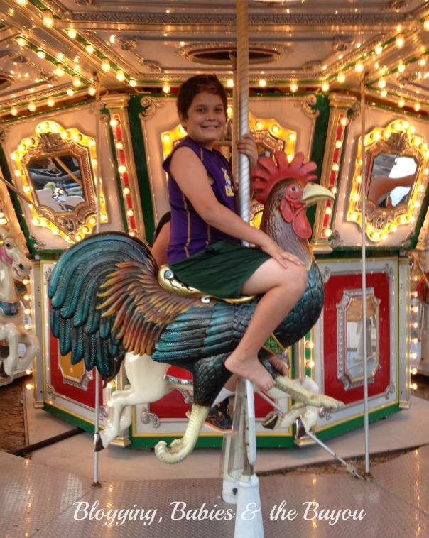 Baytown Wharf Carousel
