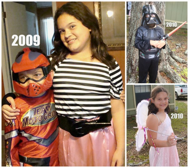 Halloween Collage 2009 & 2010