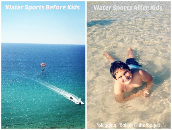 Beach Fun Before & After Kids
