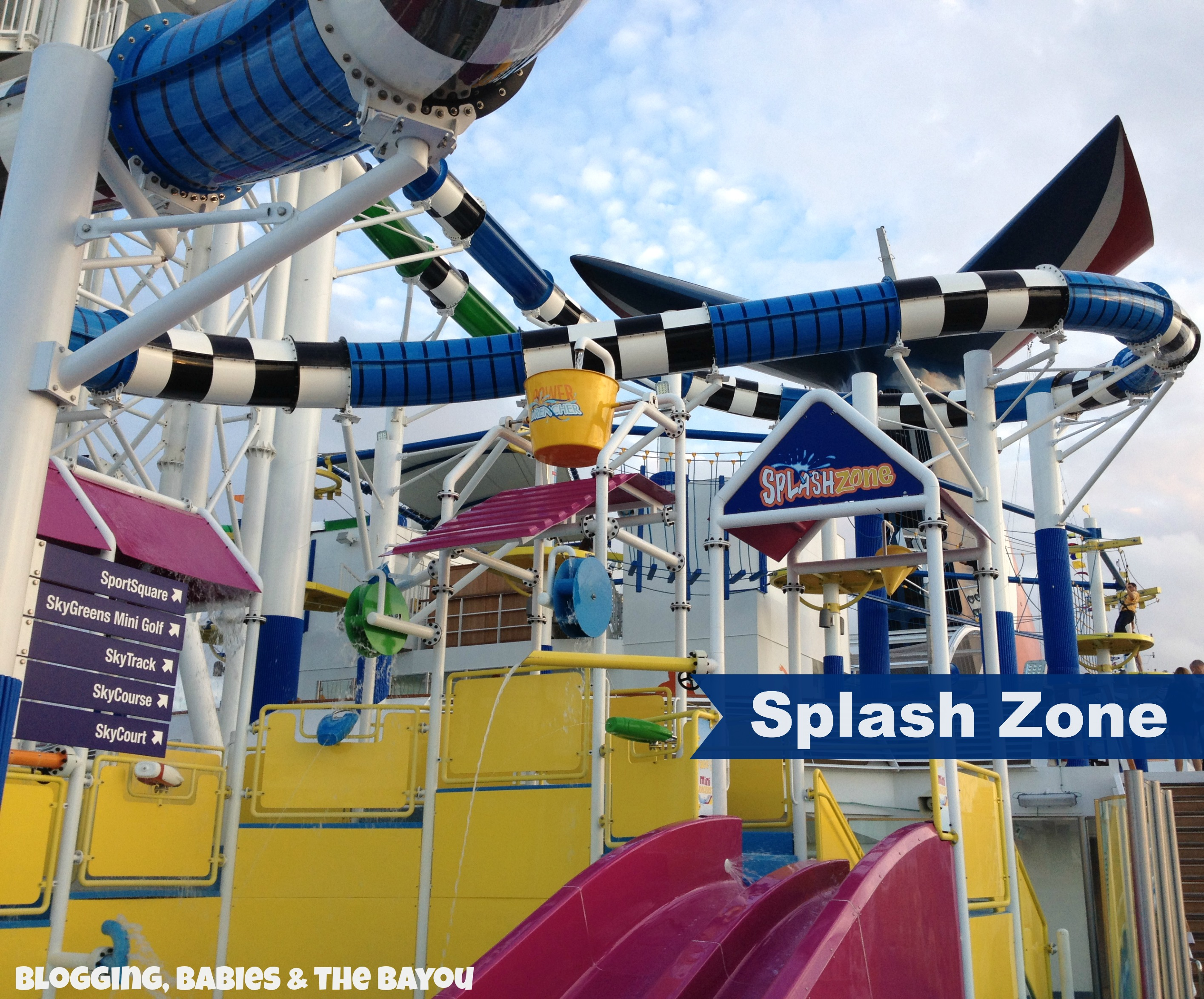 Carnival Cruise Sunshine Kids Area - Splash Zone