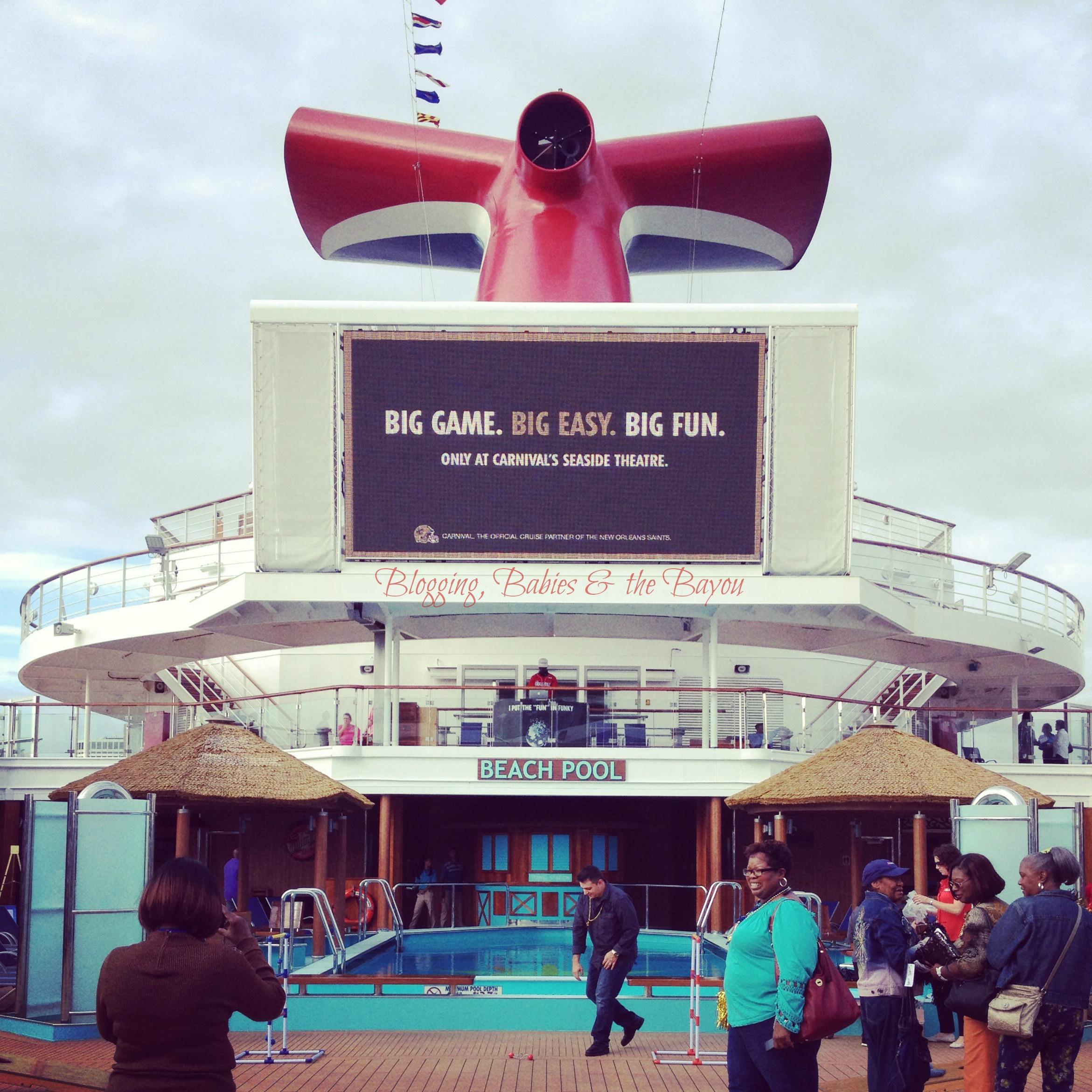 Carnival Cruise Sunshine  #SunshineNOLA