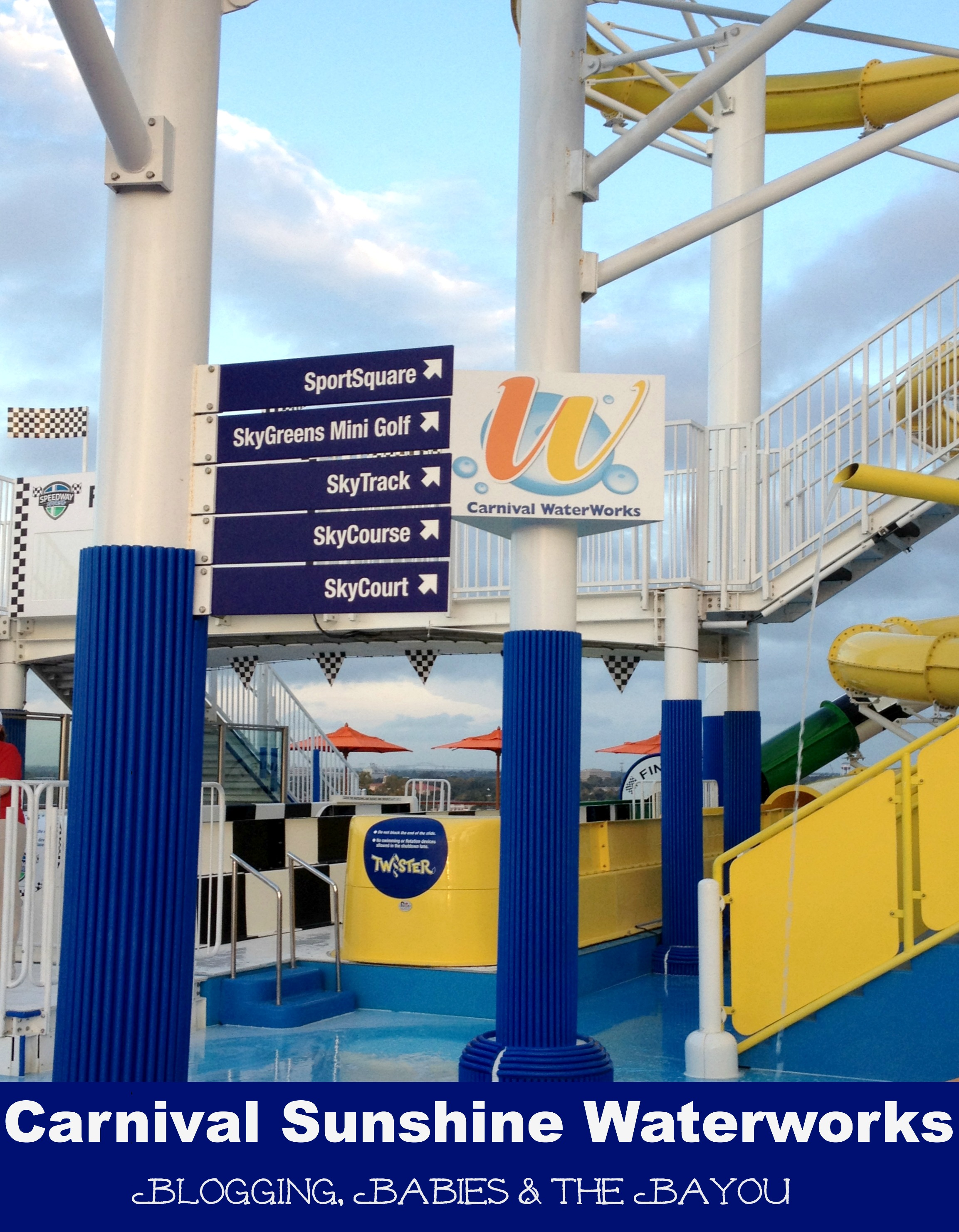 Carnival Cruise Sunshine Waterowkr Kid Area