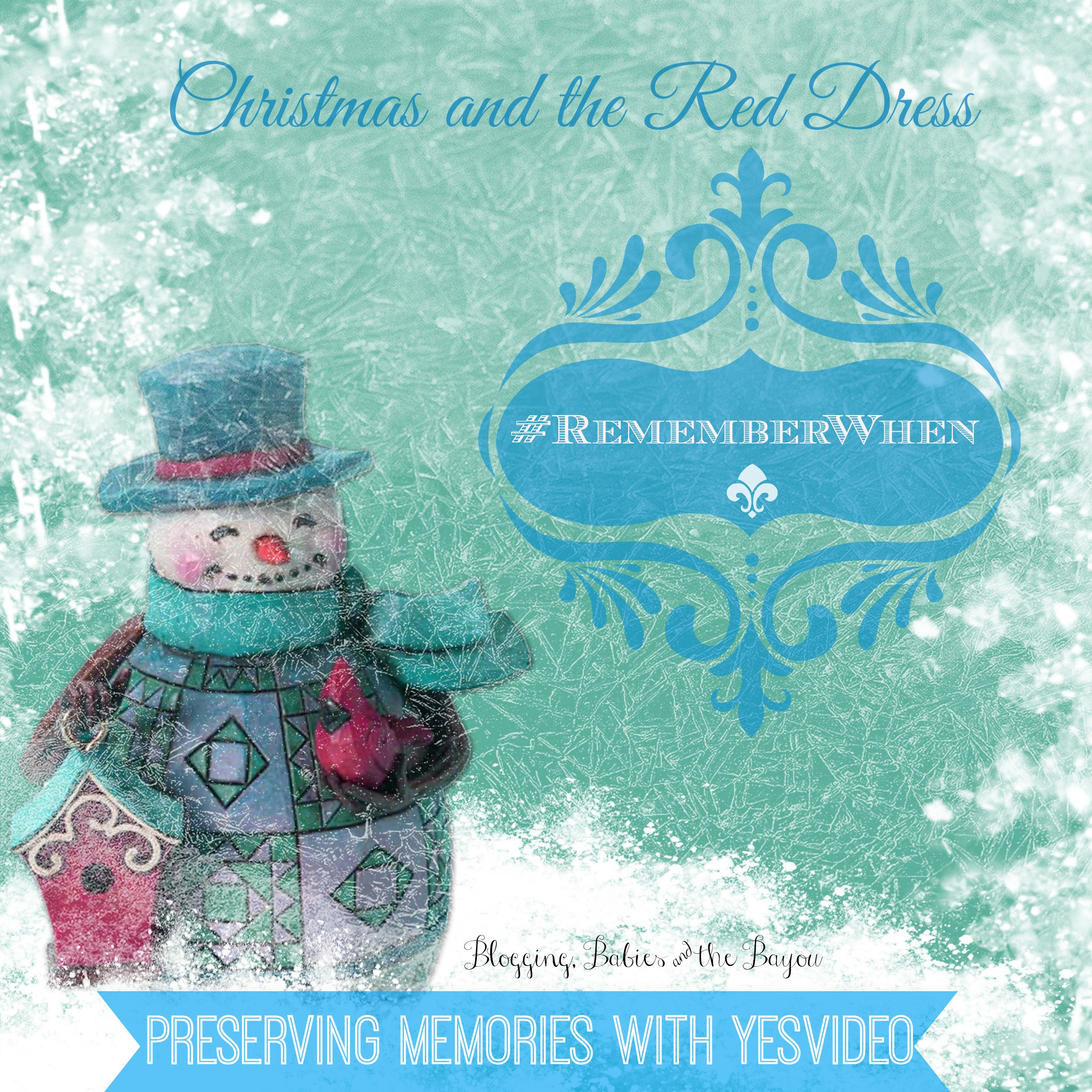 Christmas & the Red Dress #RememberWhen #sponsored