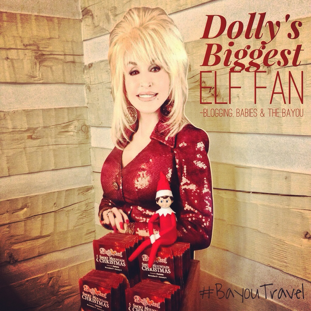 Smoky Mountain Elf on the Shelf Series - Excited about visiting Dolly!