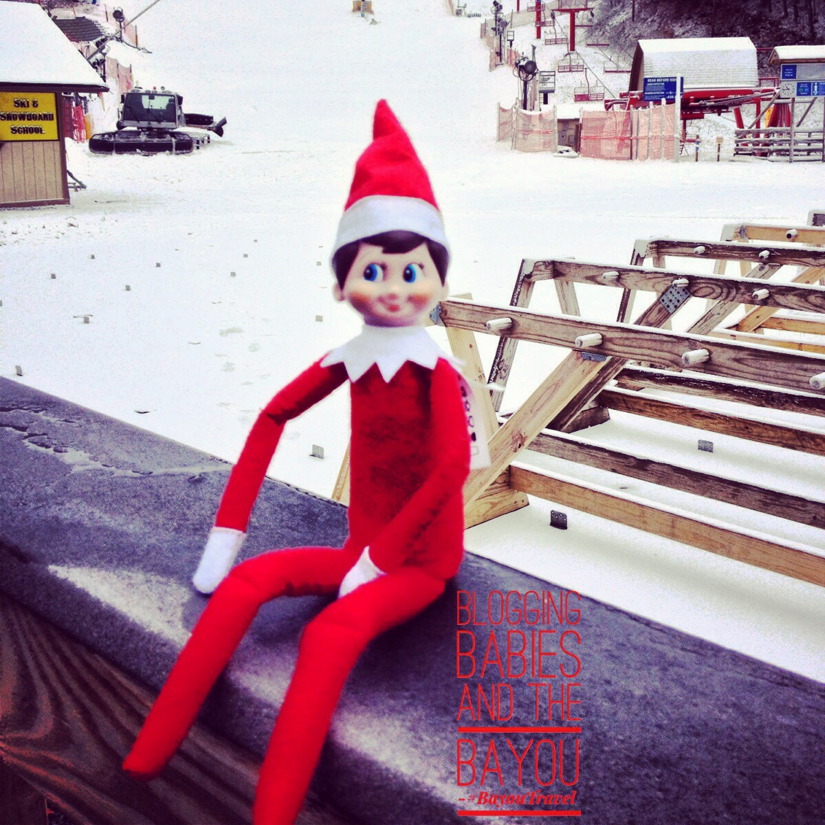 Smoky Mountain Elf on the Shelf Series Winter Wonderland - Ober Gatlinburg