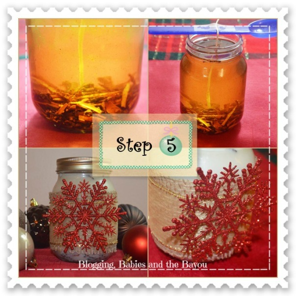 Step 5 DIY Scented Candle Gift