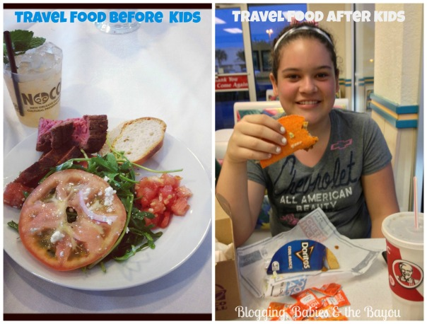 Travel food before & after kids #shop