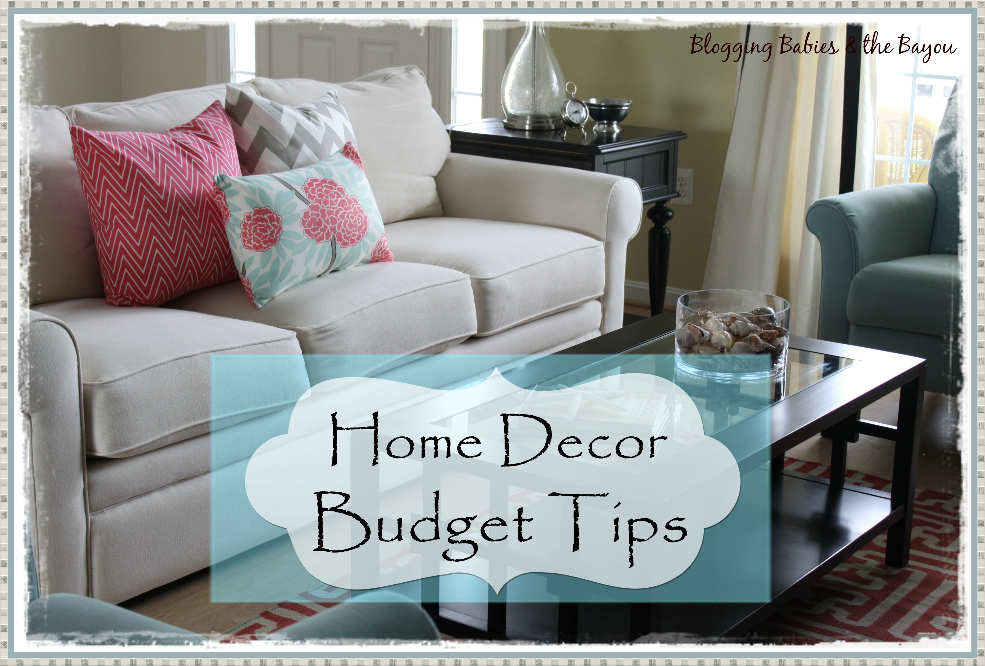 home decor on a budget re re